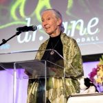 Jane Goodall Celebrity Portrait Photographer